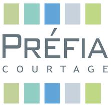 réalisation du logo pour la société Prefia Courtage
