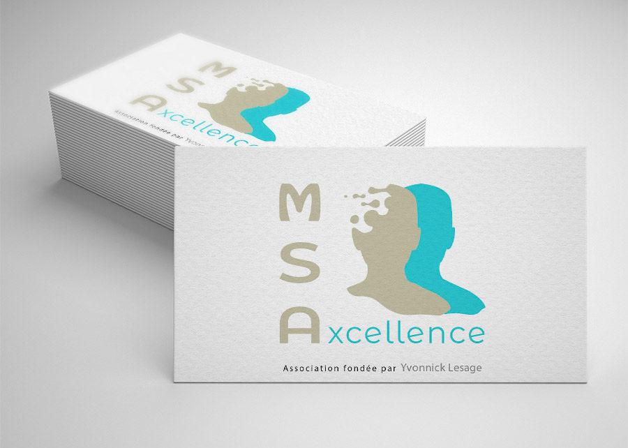 logo réalisé pour MSAxcellence